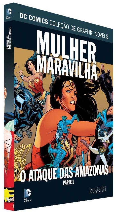 DC Comics Coleção de Graphic Novels - Volume 101 - Mulher-Maravilha - O ataque das Amazonas - Parte Um