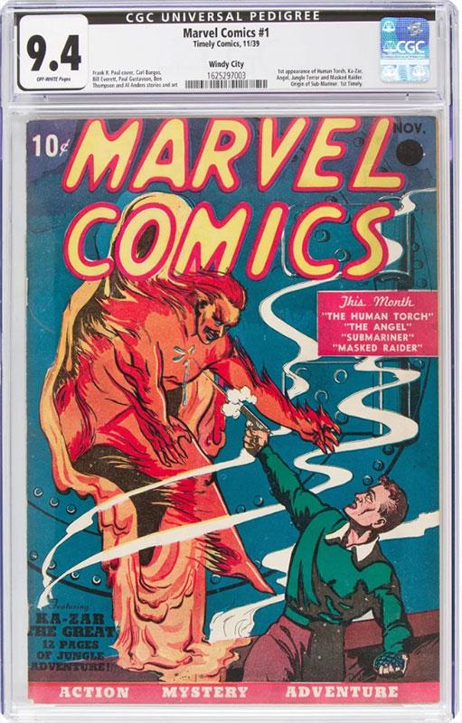 Marvel Comics # 1