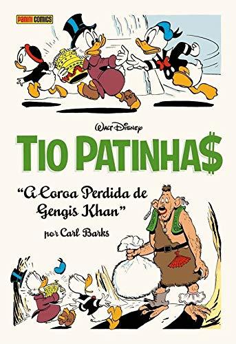 Tio Patinhas por Carl Barks - A coroa perdida de Gengis Khan