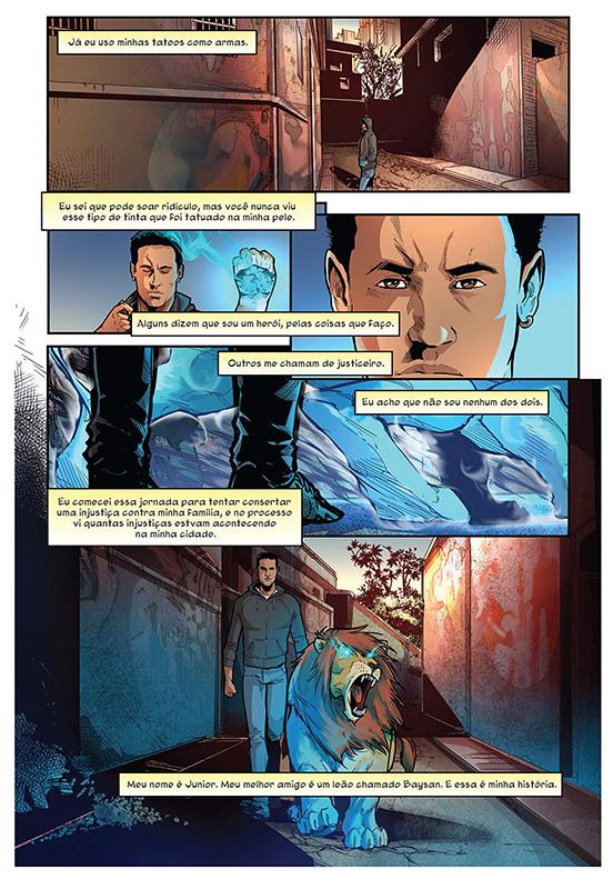 Página de Neymar Jr. Apresenta - Inked - A arte ganha vida