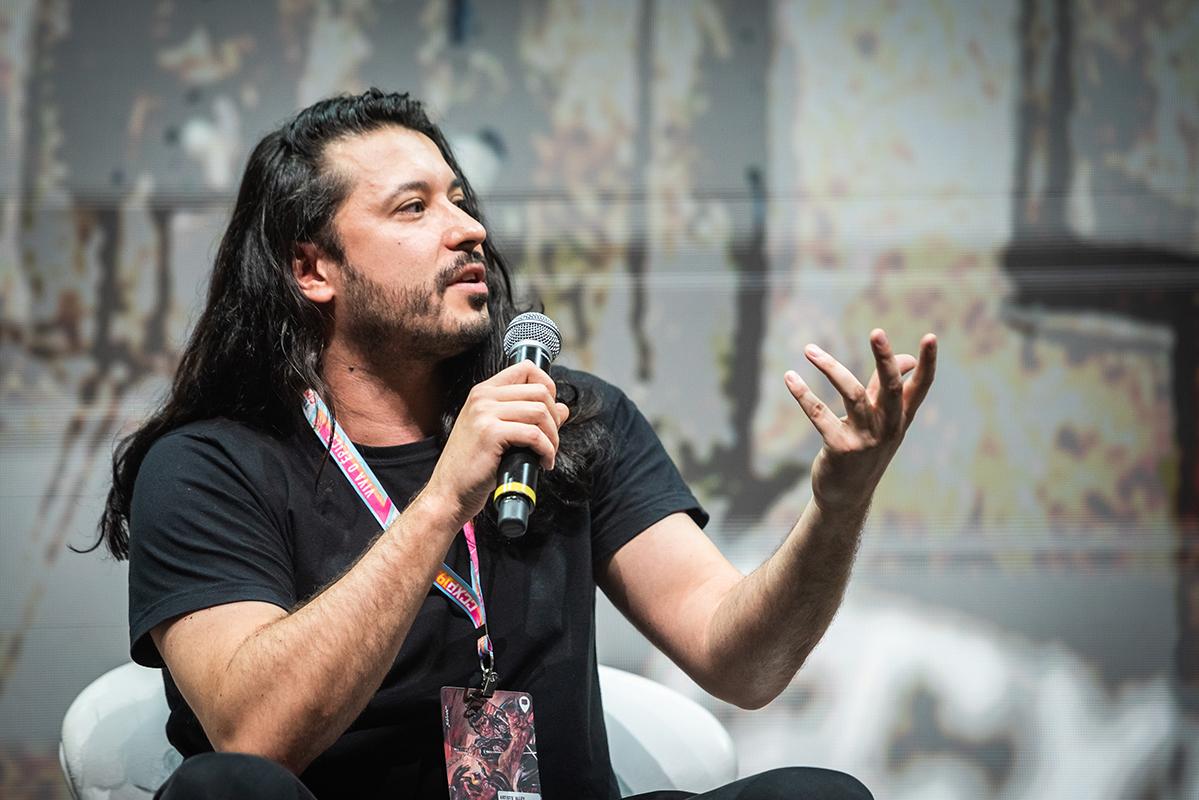 Rafael Grampá na CCXP