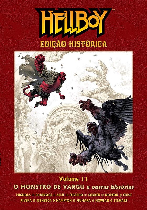 Hellboy - Edição Histórica - Volume 11 - O Monstro De Vargu