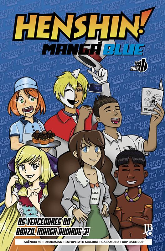 Henshin Mangá Blue