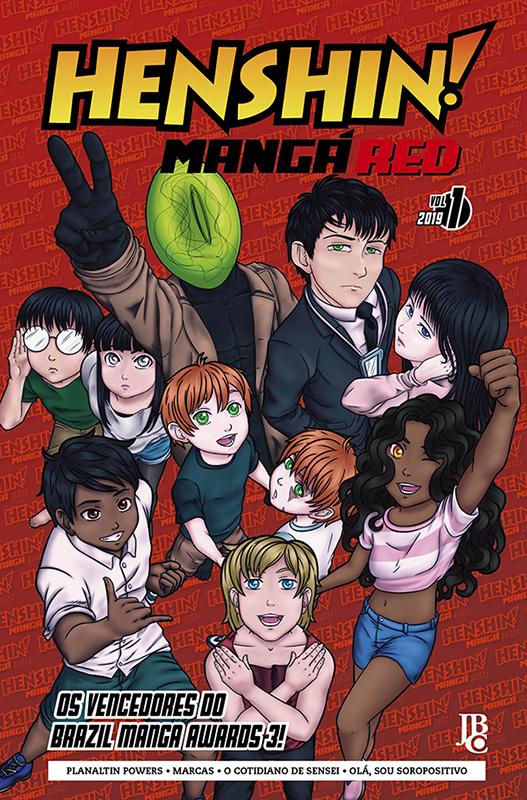 Henshin Mangá Red