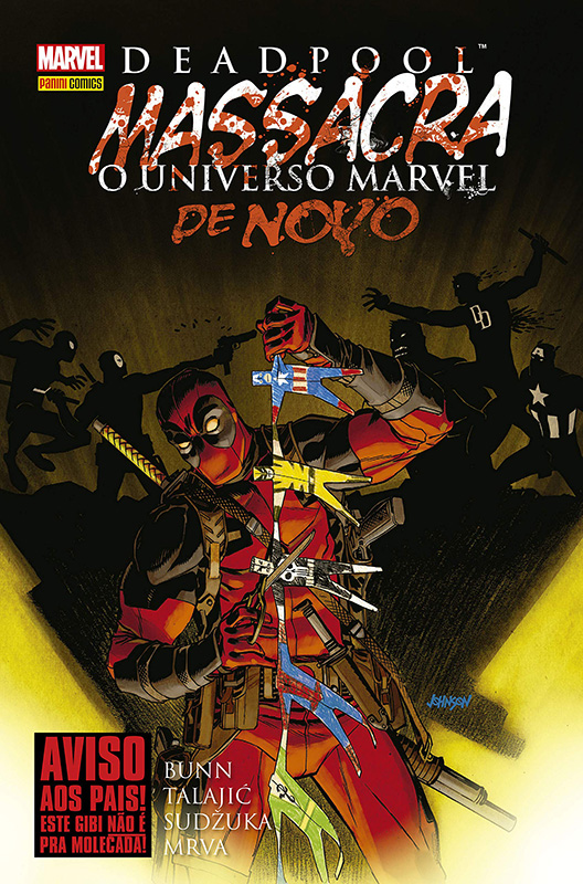 Deadpool Massacra o Universo Marvel Novamente