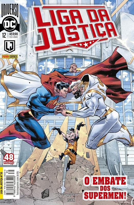Liga da Justiça # 12