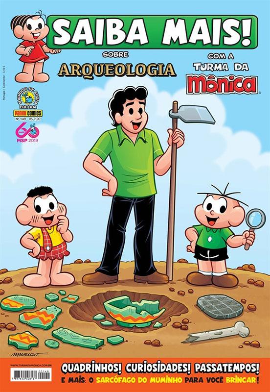 Saiba Mais! com a Turma da Mônica # 149 - Sobre Arqueologia