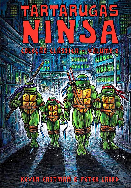 Tartarugas Ninja - Coleção Clássica - Volume 2