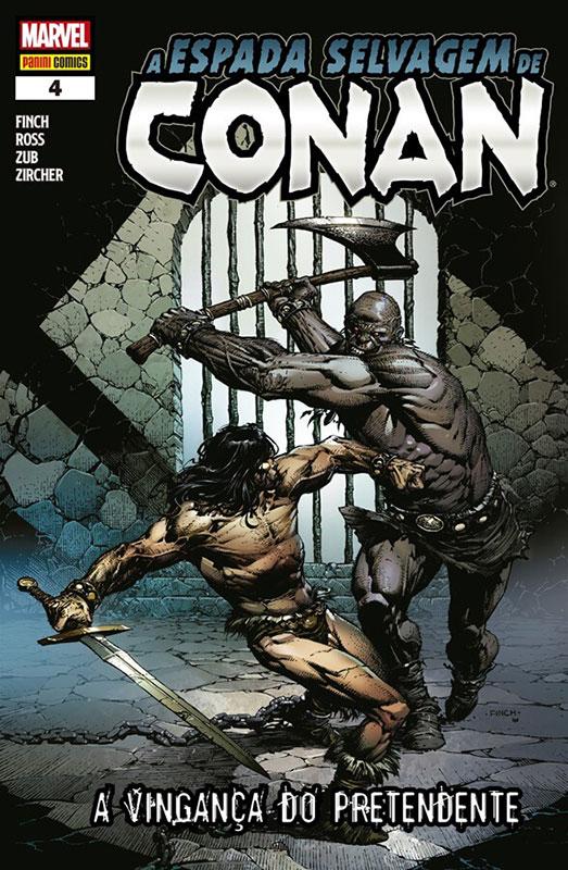 A Espada Selvagem de Conan # 4