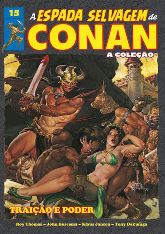 A Espada Selvagem de Conan - A Coleção - Volume 15