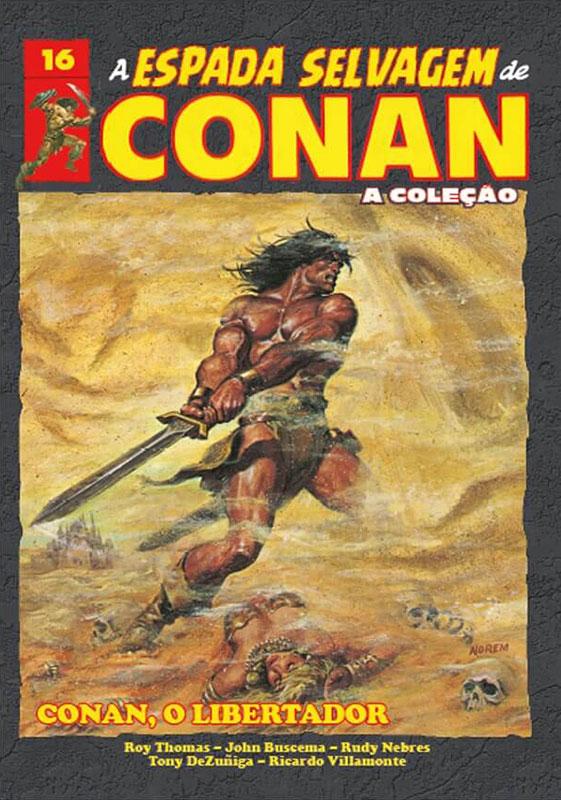 A Espada Selvagem de Conan - A Coleção - Volume 16