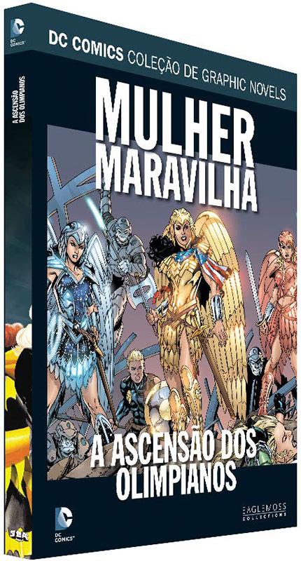 DC Comics - Coleção de Graphic Novels - Volume 110 - Mulher Maravilha - A Ascensão dos Olimpianos