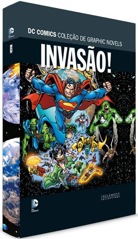 DC Comics - Coleção de Graphic Novels - Sagas Definitivas - Volume 23 - Invasão