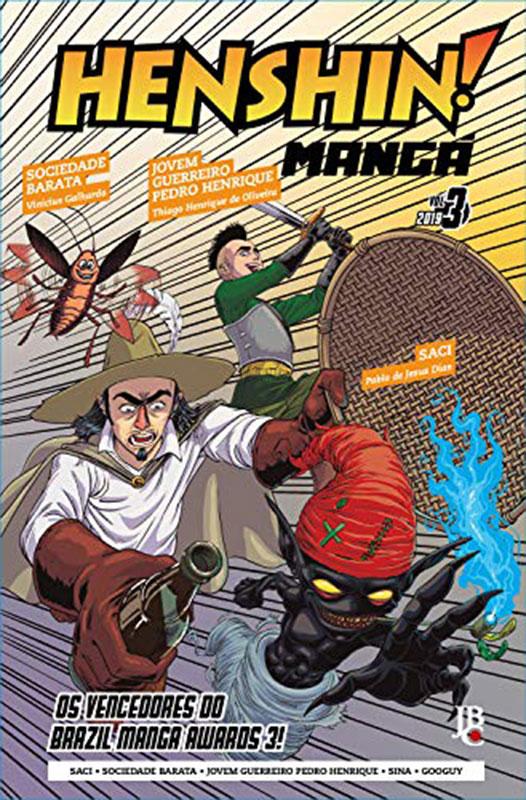 Henshin Mangá # 3