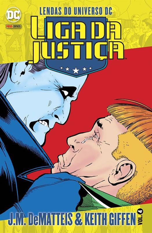 Lendas do Universo DC - Liga da Justiça - Volume 4