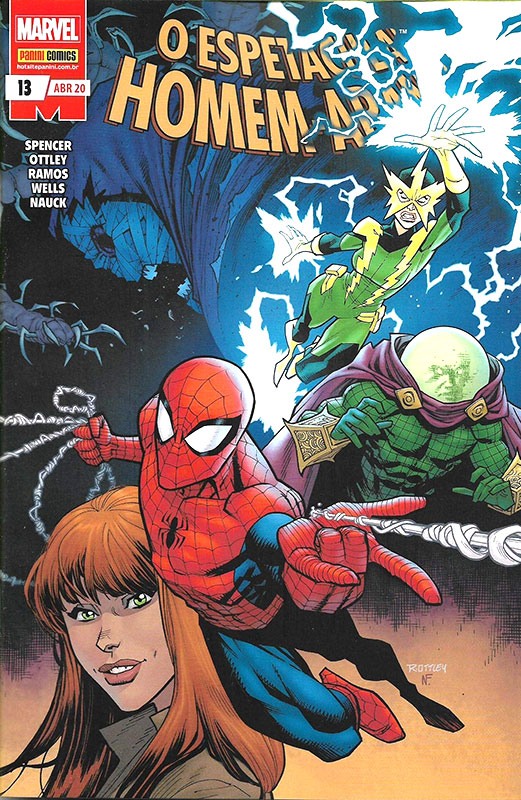O Espetacular Homem-Aranha # 13