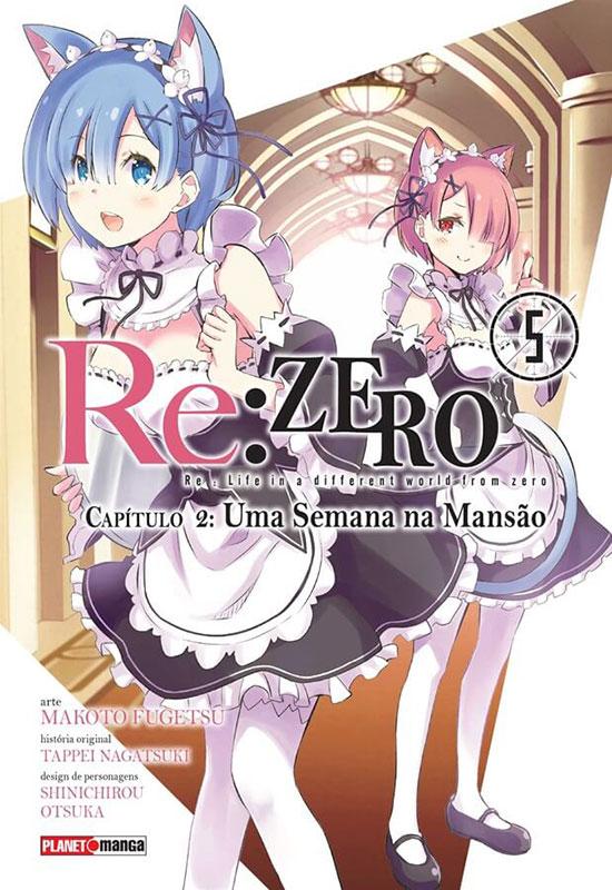 Re:Zero - Capítulo 2 - Uma semana na mansão # 5