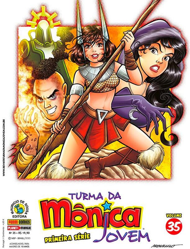 Turma da Mônica Jovem - Primeira Série # 35