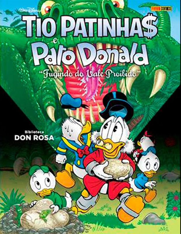 Biblioteca Don Rosa - Tio Patinhas & Pato Donald - Fugindo do vale proibido