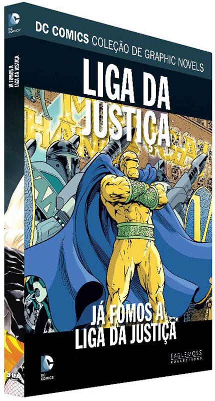 DC Comics - Coleção de Graphic Novels - Volume 111 - Liga da Justiça - Já fomos a Liga da Justiça