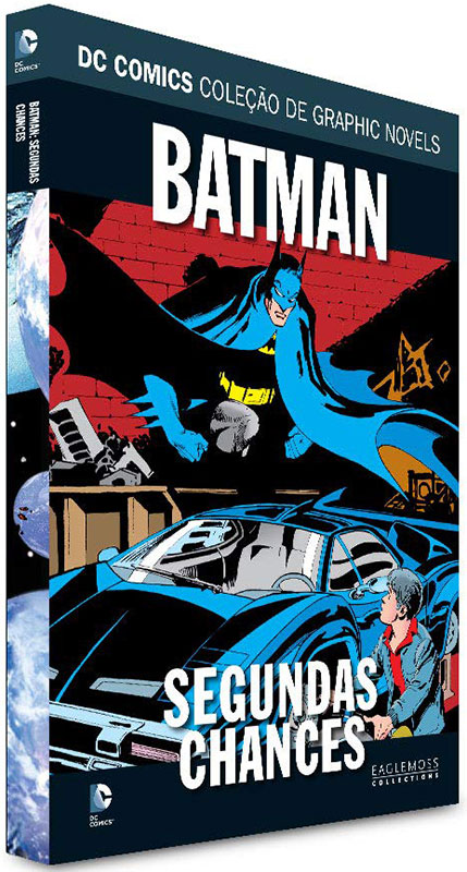 DC Comics - Coleção de Graphic Novels - Sagas Definitivas - Volume 24 - Batman - Segundas Chances