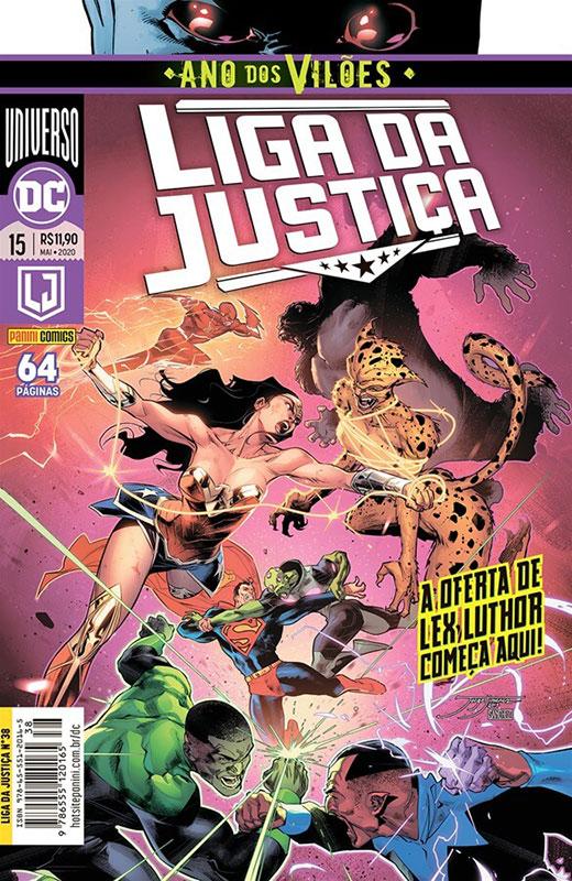Liga da Justiça # 15