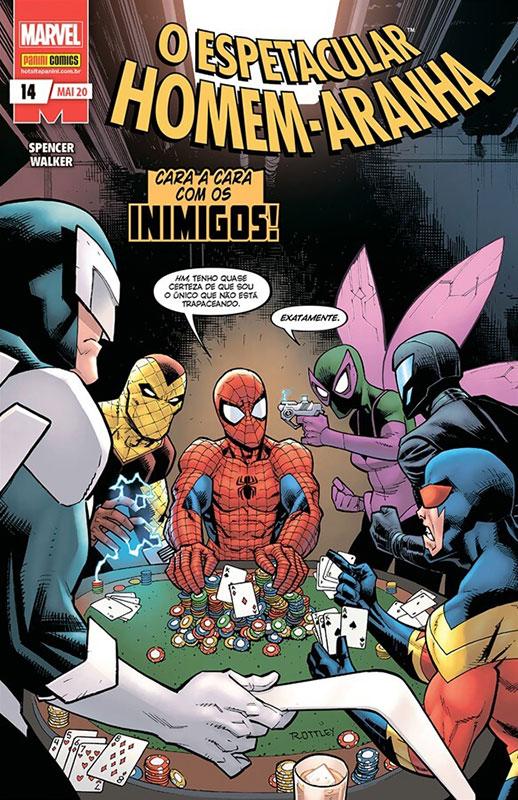 O Espetacular Homem-Aranha # 14