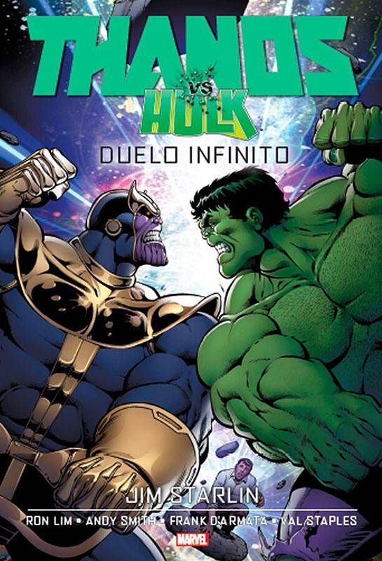 Thanos vs. Hulk - Duelo infinito