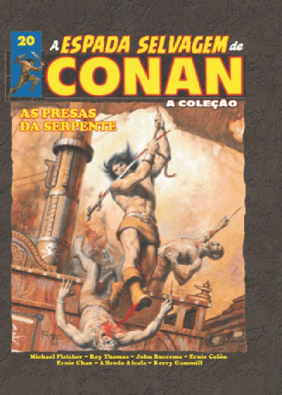 A Espada Selvagem de Conan - A Coleção - Volume 20
