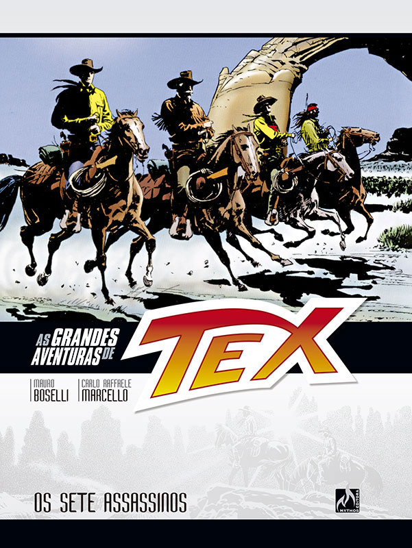 As grandes aventuras de Tex - Volume 6 - Os sete assassinos