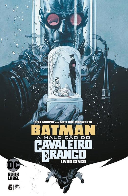 Batman - A Maldição do Cavaleiro Branco # 5
