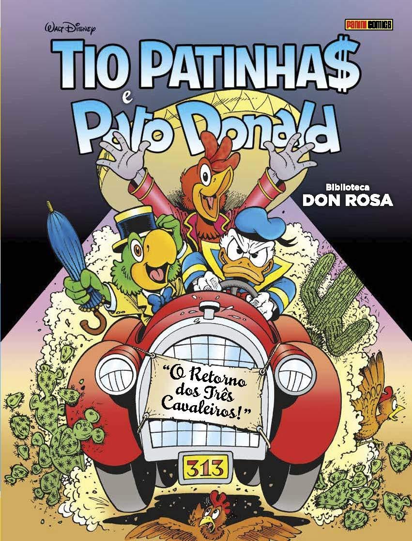 Biblioteca Don Rosa - Tio Patinhas & Pato Donald - O retorno dos três cavaleiros