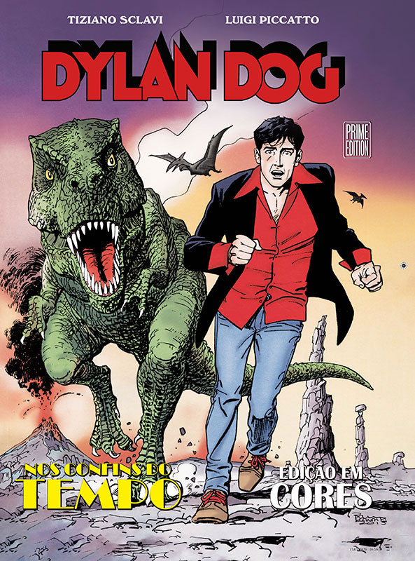 Dylan Dog - Graphic Novel 3 - Nos confins do tempo