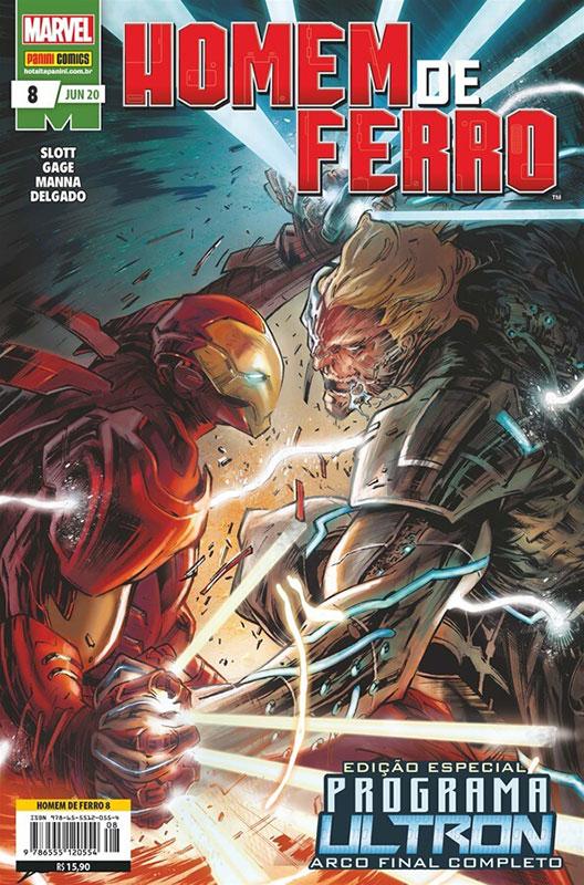 Homem de Ferro # 8