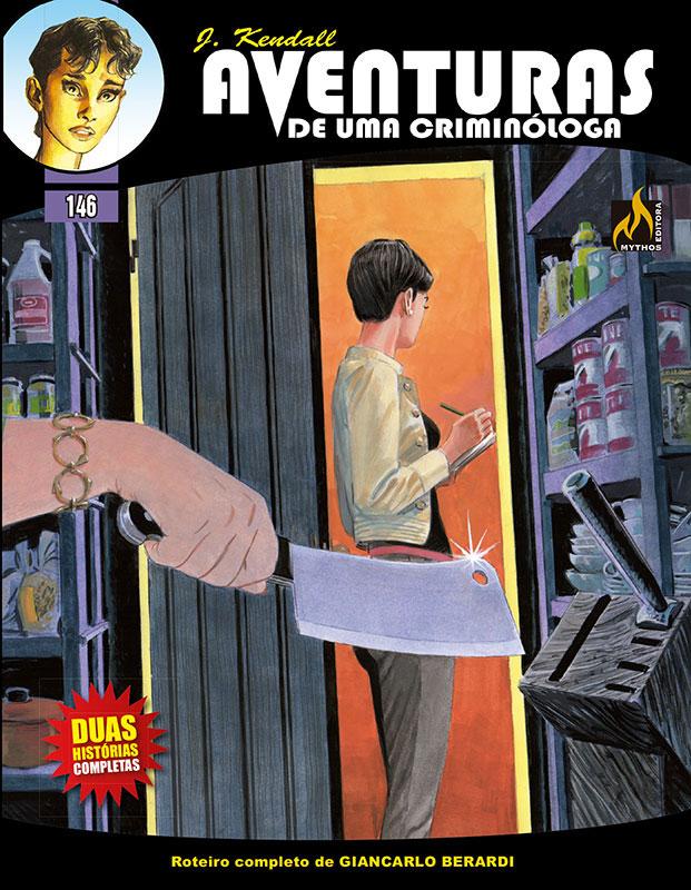 J. Kendall - Aventuras de uma criminóloga # 146