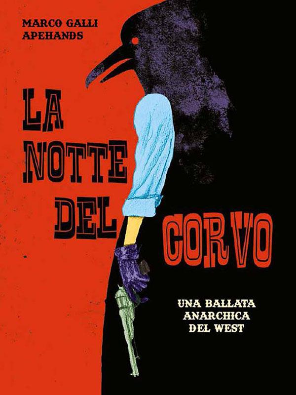Capa da edição italiana La Notte Del Corvo