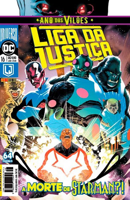 Liga da Justiça # 16