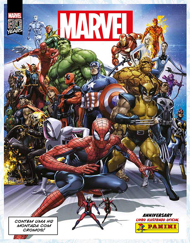 Marvel 80 anos