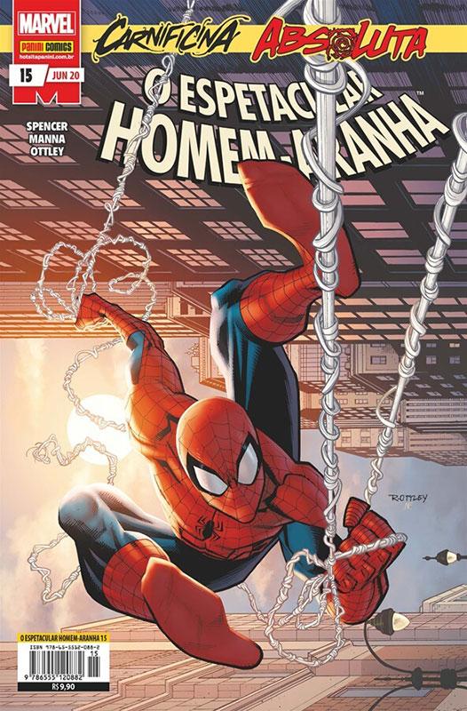 O Espetacular Homem-Aranha # 15