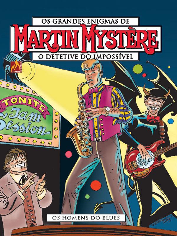 Os grandes enigmas de Martin Mystére # 16