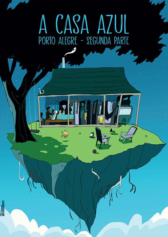 A casa azul - Porto Alegre - Segunda parte
