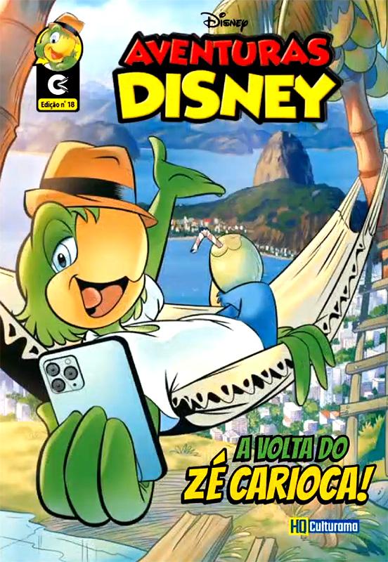 Capa de Aventuras Disney # 18