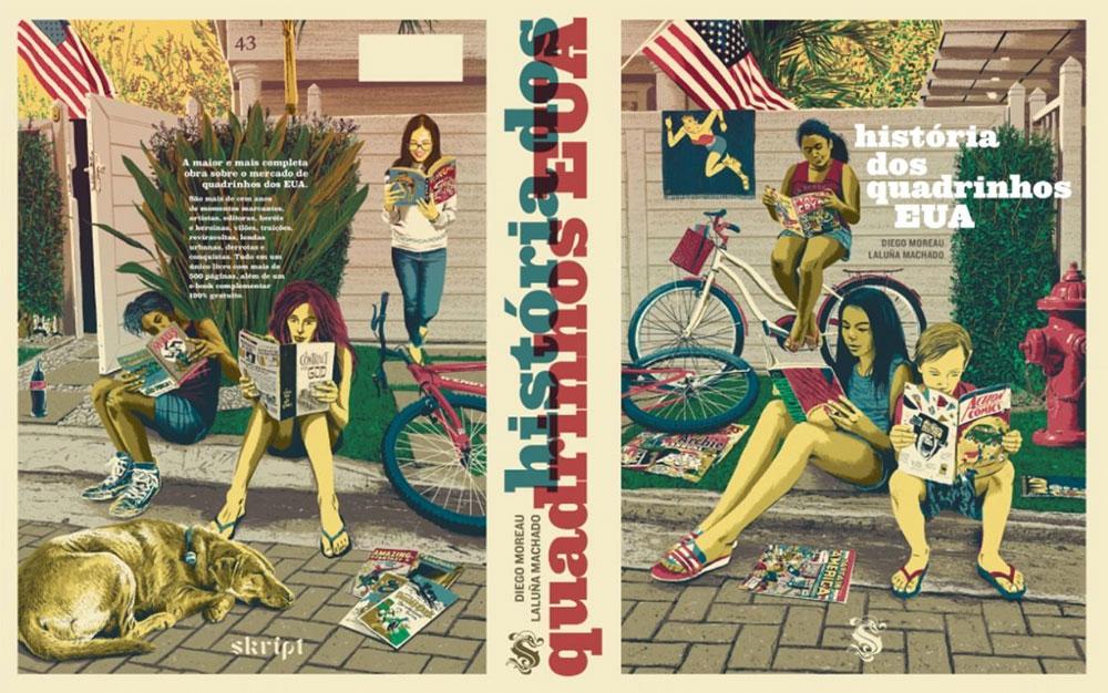 A História dos quadrinhos - EUA