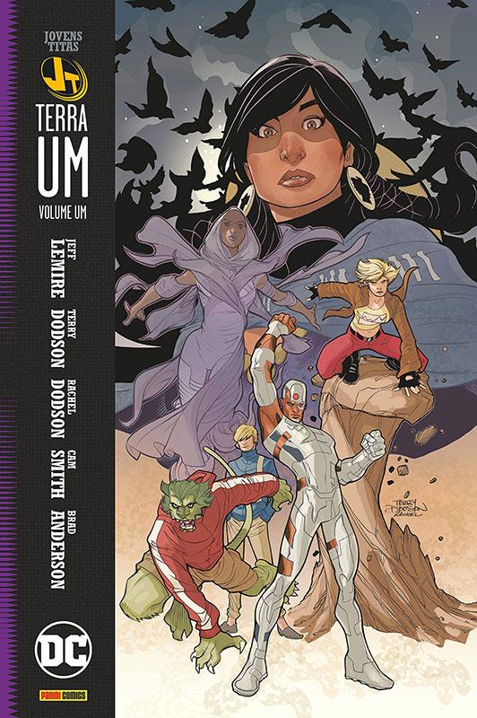 Os Jovens Titãs- Terra Um - Volume 1