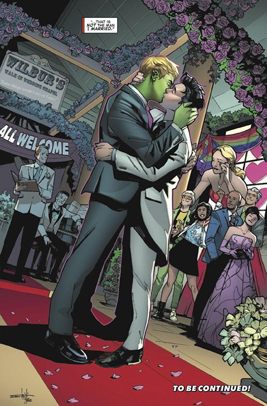 Casamento do Hulkling e Wiccano