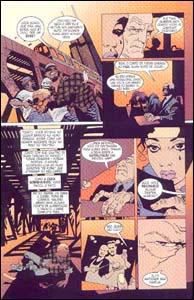 Personagem da série Jonny Double se dá mal em 100 Balas #1