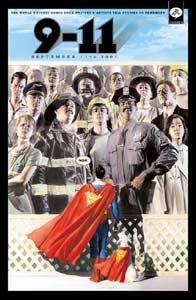 Capa de September 11, arte de Alex Ross