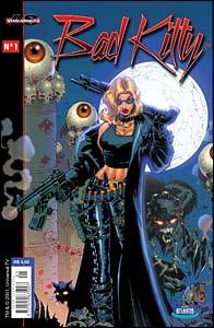 Bad Kitty #1, título da Chaos! publicado no Brasil pela Atlantis
