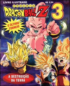 Livro Ilustrado Dragon Ball Z #3
