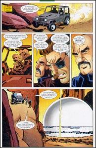 Página cortada de Capitão América, em Paladinos Marvel #7